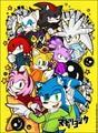 Sonic and the gang,matryoshka!