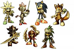 Sonic knight characters!