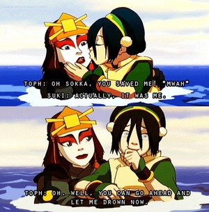 Sookie and Toph