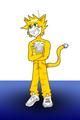 Stampy Cat Shini-Deity style