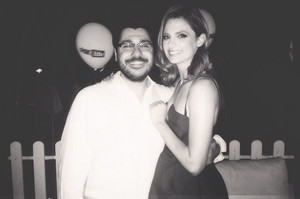Stana and a fan(June,2014)
