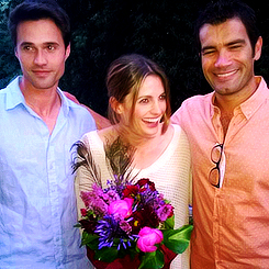 Stana and friends-BTS 'The tourist'