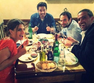 Stana and friends(June,2014)