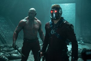 Star-Lord and Drax The Destroyer