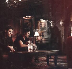 Stefan, Damon and Enzo