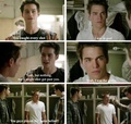 Stiles and Liam
