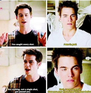 Stiles and Liam ;')