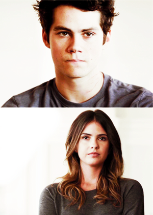 Stiles and Malia. Stalia