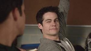 Stiles winking