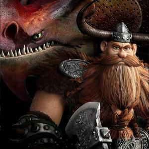 Stoick and Skullcrusher