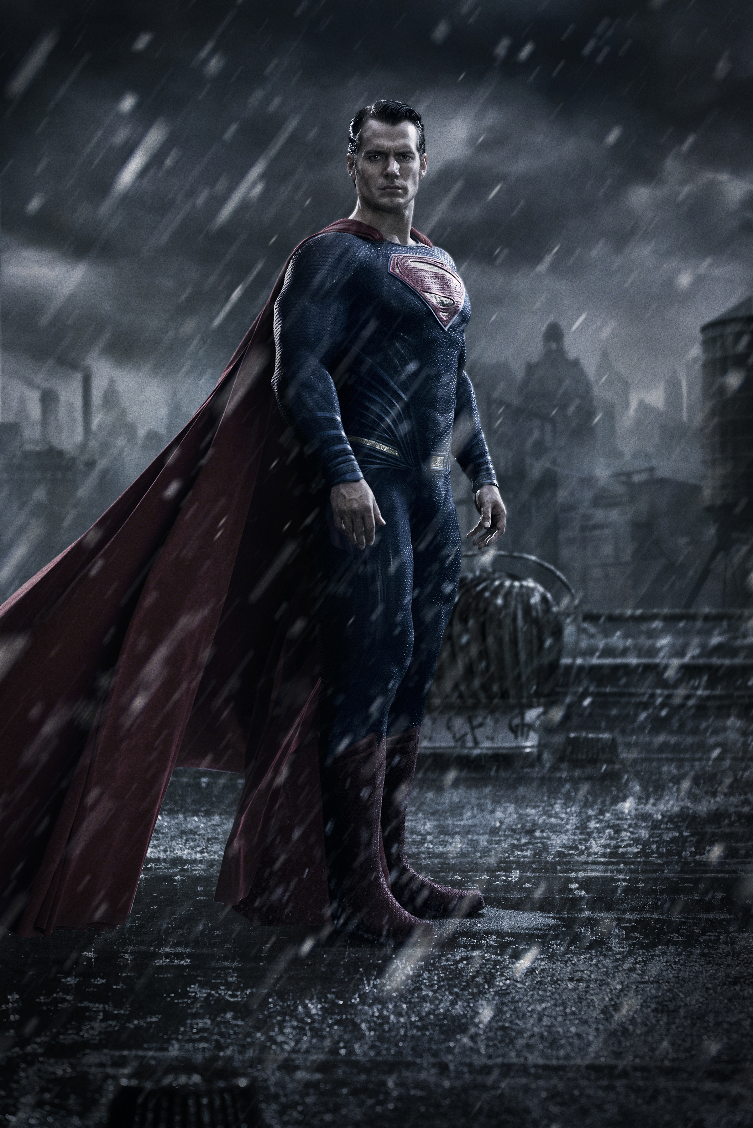 batman v superman: dawn of justice images superman first official