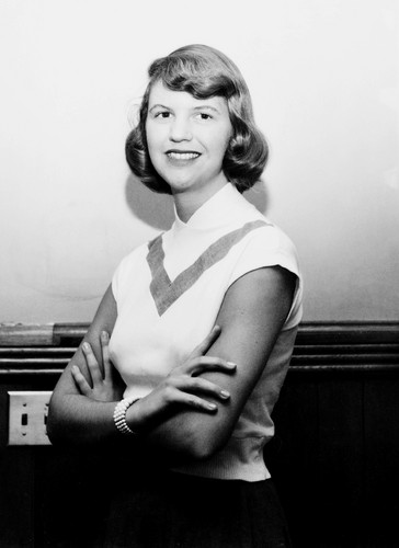 Poets & Writers achtergrond entitled Sylvia Plath