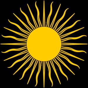 Symbol - sun
