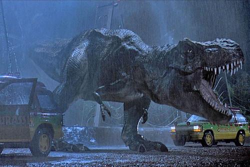 Nocturnal Mirage fond d'écran with a triceratops titled T-Rex Jurassic Park