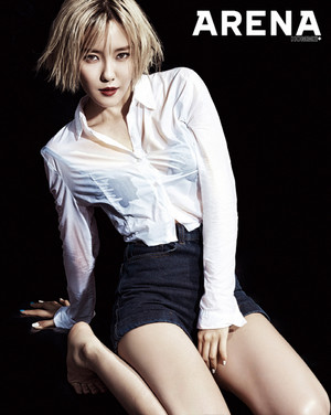 T-ara Hyo Min - Arena Homme Plus Magazine July Issue '14