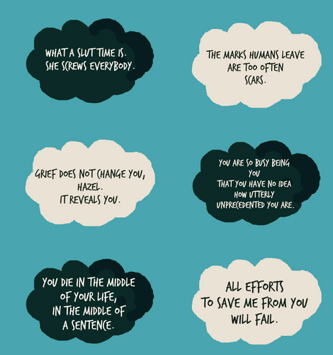 The Fault In Our Stars Wallpaper Possibly With A Venn Diagram And Anime  Called TFiOS Quotes