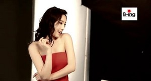 Taeyeon B-Ing Behind the Scene