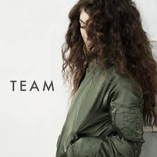 Lorde Обои called Team (cover)