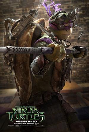Teenage Mutant Ninja Turtles (2014) Poster: Donatello