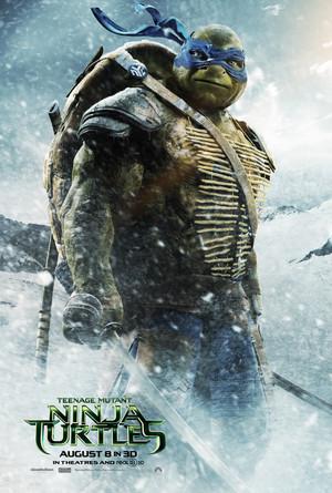 Teenage Mutant Ninja Turtles (2014) Poster: Leonardo