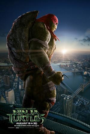 Teenage Mutant Ninja Turtles (2014) Poster: Raphael