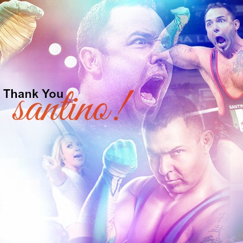 WWE wallpaper titled Thank you santino !