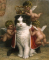 The Cat King - nyan-cat photo