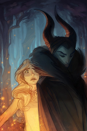 The Curse of Maleficent Official Illustrations