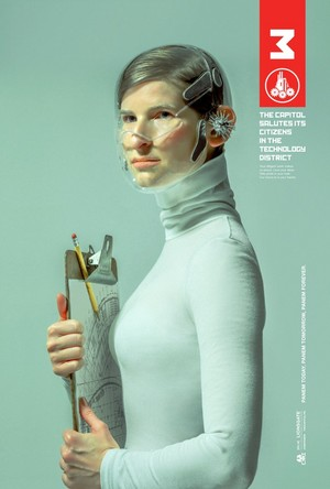 The Hunger Games: Mockingjay - District Posters