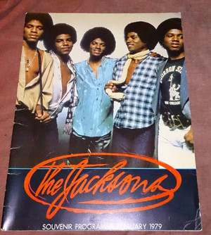 The Jacksons konzert Tour Program