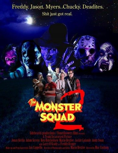 filmes de terror wallpaper containing animê titled The Monster Squad 2 (Poster)