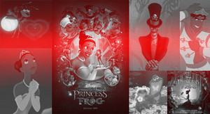 The Princess and the Frog Collage