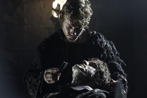 Theon Greyjoy and the Bolton Bastard in 'The Lion and the Rose'
