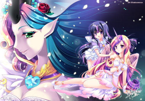 My Little ngựa con, ngựa, pony - Friendship is Magic hình nền probably containing anime called This ngày Aria anime