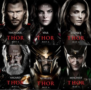 Thor 2011 poster 이미지