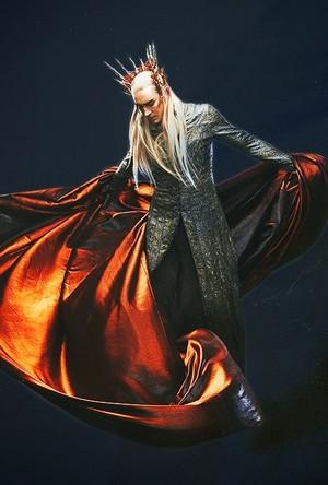 Thranduil with cloak