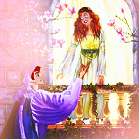 Thumbelina as Juliet and Cornelius and Romeo