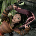 Toothless and Valka
