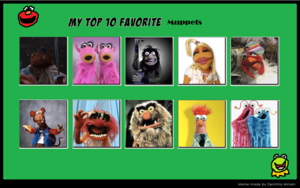 Top 10 Favorite Muppets