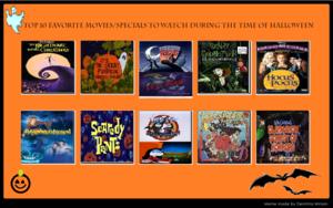 top, boven 10 Halloween Specials