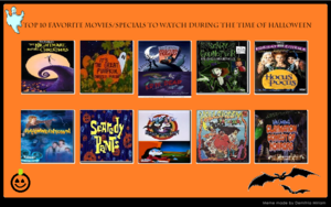 superiore, in alto 10 Halloween Specials