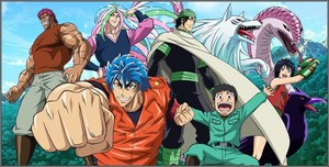 Toriko: Food-themed series