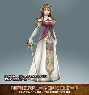 Twilight Princess Zelda costume DLC