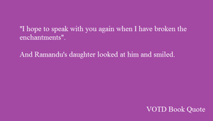 VOTDT Book Quote