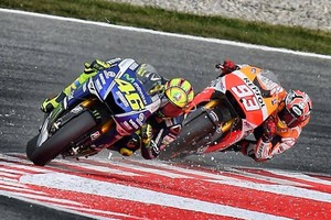 Vale and Marc (Catalunya GP 2014)