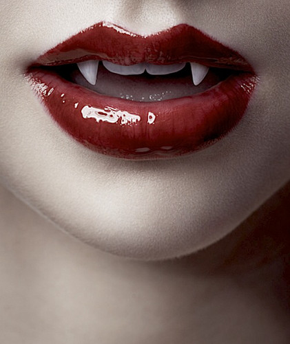 Vampires wallpaper called Vampire Mouth