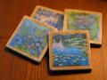 Van Gogh Marble Coasters