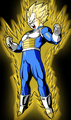 Vegeta The Real Super Sayian