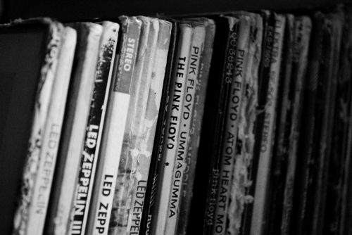 Music Wallpaper Probably With A Bookcase Library And Bookshop Titled Vinyl Records