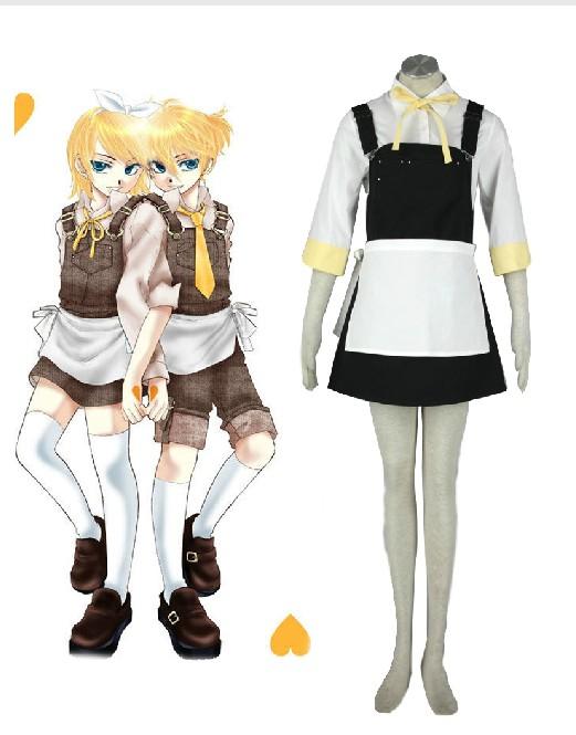 Vocaloid Alice Kagamine Ren Cosplay Costume